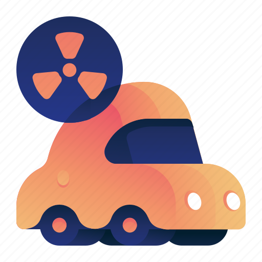 Car, ecology, environment, nuclear, vehicle icon - Download on Iconfinder