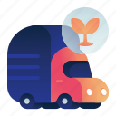garbage, organic, transportation, truck, vehicle