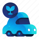 car, ecology, environment, plant, vehicle icon