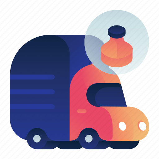 Garbage, plastic, transportation, truck, vehicle icon - Download on Iconfinder