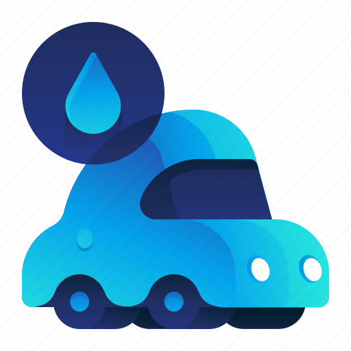 car, ecology, environment, power, vehicle, water icon
