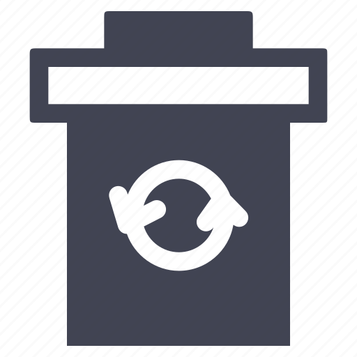 bin, dustbin, eco, ecology, garbage, recycle, trash icon