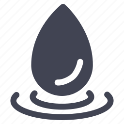 beverage, drink, drop, eco, ecology, nature, water icon