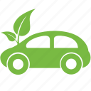 car, eco, ecology, friendly, green, natue, vehicle icon