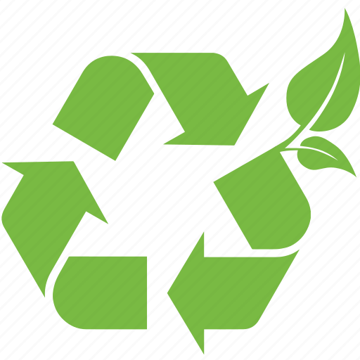 eco, friendly, garbage, leaf, nature, recycle, reduce icon