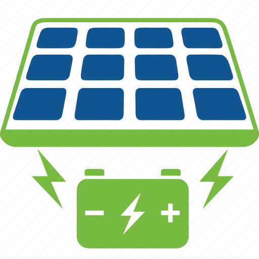 battery, cells, eco, energy, nature, panel, salar icon