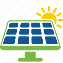 cells, eco, energy, nature, panel, salar, sun icon