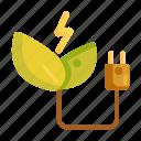 energy, green, green energy, rechargeable, renewable, renewable energy icon