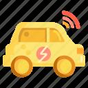 car, connected car, smart, smart car, smart vehicle icon