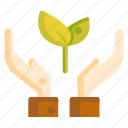care, caring, ecology, environmental friendly, nature icon