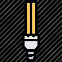 bio, eco, ecology, green, lightbulb, nature, plant icon