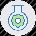 ecology, energy, environment, flower, test tube, tube