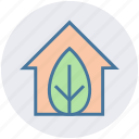 ecology, environment, green, green house, home, house, leaf