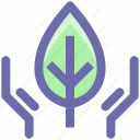 conservation, ecology, environment, nature, plant, recycling icon