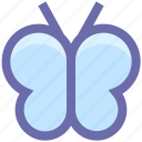 butterfly, butterfly e, co, cute, eco, ecology, environment, fly, insect icon