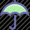 ecological, ecology, energy, environment, garden, nature, rain, umbrella icon