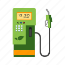 eco, fuel, gas, gasoline, oil, sign, station