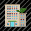 building, living, eco, house, green, solar, friendly
