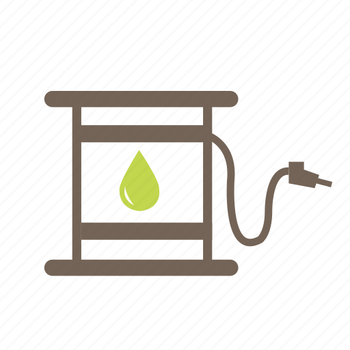 battery, environment, gas, oil, power, pump icon