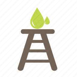 environment, fire, gas, nuclear, oil, power, science icon