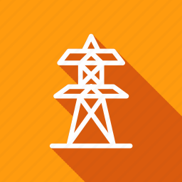 eco, ecology, electrical tower, environment, green, nature, plant icon