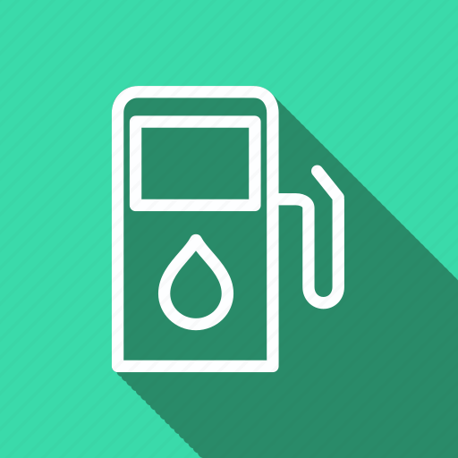 eco, ecology, environment, gas station, green, nature, plant icon