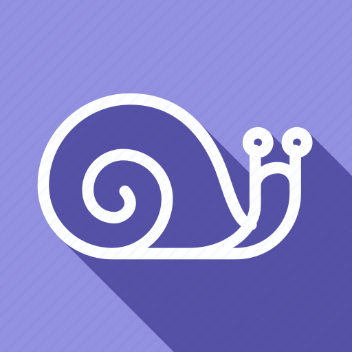 eco, ecology, environment, green, nature, plant, snail icon