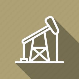 crane, eco, ecology, environment, green, nature, plant icon