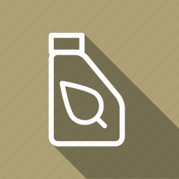 eco, ecology, environment, green, nature, oil can, plant icon