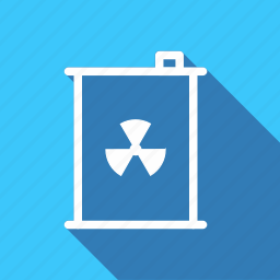 barrel, ecology, environment, green, nature, nuclear residue, plant icon