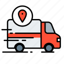 delivery, ecommerce, location, logistic, package, shipping, truck
