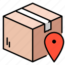 ecommerce, package, delivery, business, box, location
