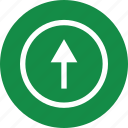 arrow, interest, price, rate, up, upload icon