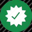 burst, check, mark, price, star, tag icon