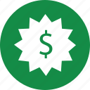 business, dollar, money, price, sign, tag icon