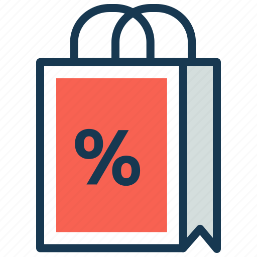 Discount, ecommerce, fashion, gift, offer, purchase, shopping bag icon - Download on Iconfinder
