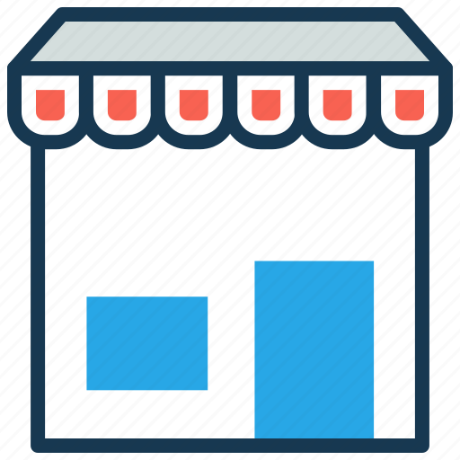 ecommerce, market, online shopping, retail, shopping mall, shopping store icon