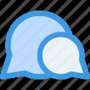chat, communication, message, speech, bubble
