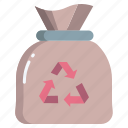recycle, trash