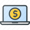 commerce, e, ecommerce, money, online, pay, payment icon