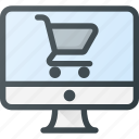 comfortable, commerce, e, ecommerce, online, shop, shopping icon