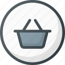 back, cart, ecommerce, money, online, payment, shop icon