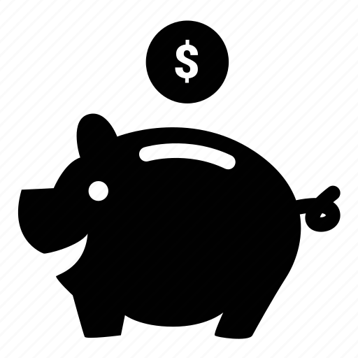 bank, cheap, money, piggy, save icon