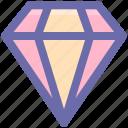 brilliant, crystal, diamond, gem, gemstone, jewelry icon