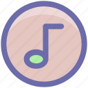 audio, music, music note, note, song, sound icon