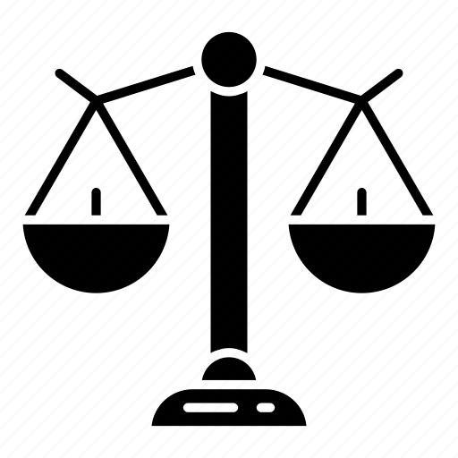 balanced, business, ecommerce, judge, justice, law, libra icon