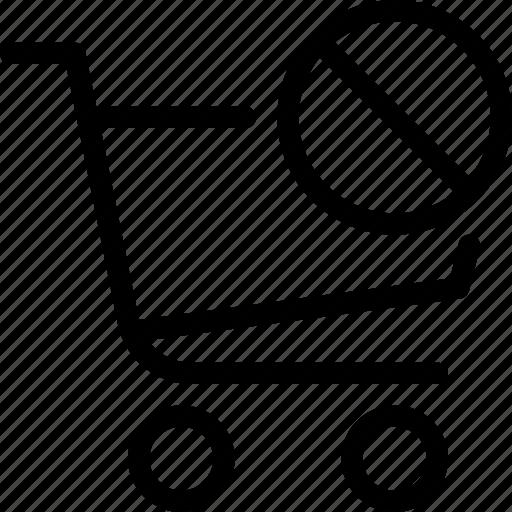 cart, dismiss, ecommerce, shop, shopping icon