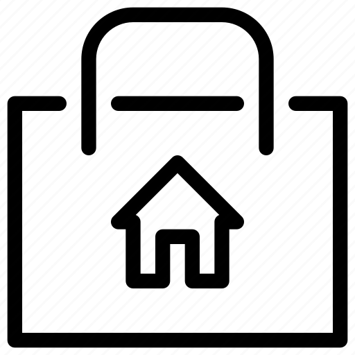bag, ecommerce, home, shop, shopping icon