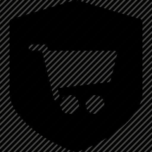 ecommerce, safe, secure, shop, shopping icon