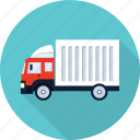 delivery, ecommerce, shipping, transport, transportation, truck icon
